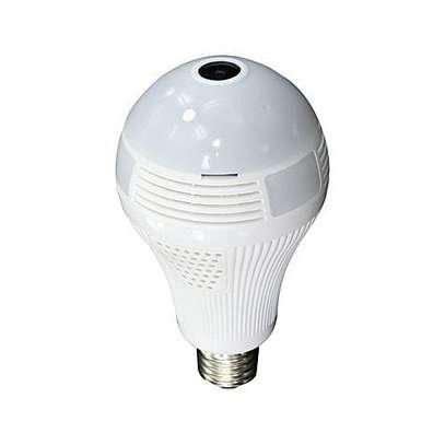 Nanny CCTV bulb camera image 1