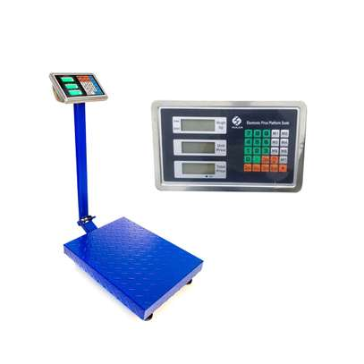High Precision stainless steel 300kg electronic weighing scale image 1