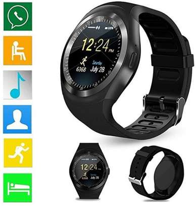 Sports Fitness Bluetooth Smart Watch Pedometer supports sim card image 1