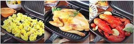 Dessini double sided grill pan (36cm) image 3