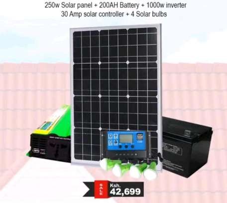 250w solar panel image 1