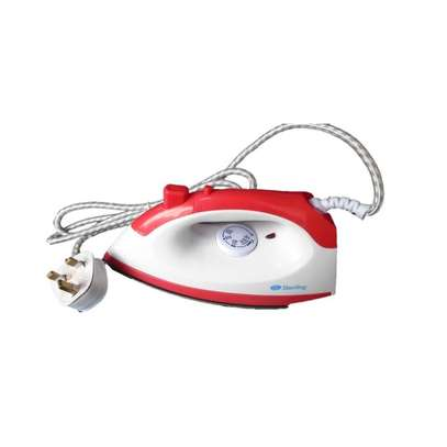 Sterling Dry Iron with spray - White & RED
