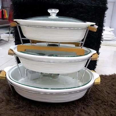 Ceramic Food warmers image 1