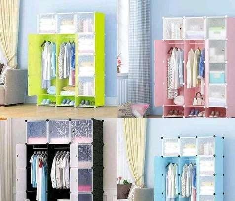 3 columns cabinet wardrobe image 1