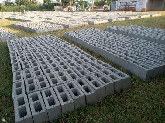 Concrete blocks image 4