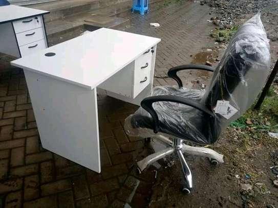 Office study desks plus chair