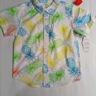 Kids checked shirts image 1