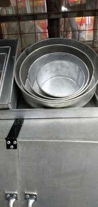 Jua Kali Aluminium Baking Tins - Rounded image 1