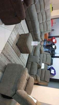Recliner sofas in Microfiber fabric