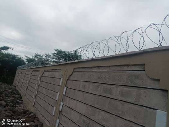 wall top electric fencing installation in kenya