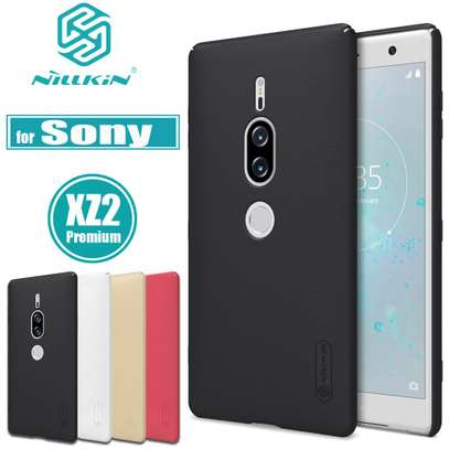 NILLKIN Super Frosted Shield Back Cover For Sony XZ2 Premium image 1