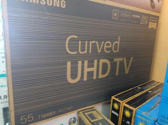 samsung 55 smart curved uhd tv image 1