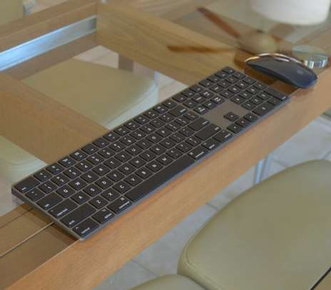 Apple Magic Keyboard with Numeric Keypad, Magic Mouse 2 (Space Gray) image 3