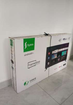 Synix 43 Inches Frameless image 1