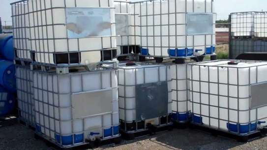 iBC Steel caged water tanks very durable
