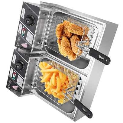 Nunix Double Deep Fryer image 1