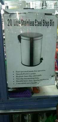 Stainless Steel Dustbin image 2