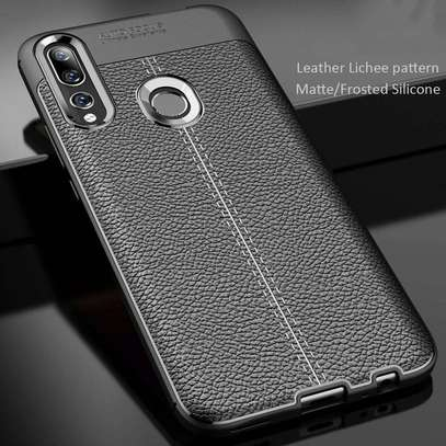 Auto Focus Leather Pattern Soft TPU Back Case Cover for Huawei Y9s/ Y9 2019/Y9 Prime 2019 image 5