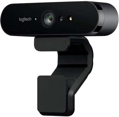Logitech BRIO Ultra HD Webcam for Video Conferencing, Recording, and Streaming - Black image 1