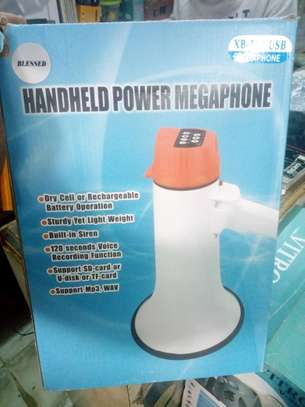 Rechargeable megaphone image 1