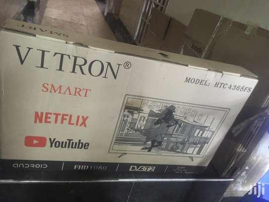 Vitron 43 Inches SMART ANDROID TV, NETFLIX image 1