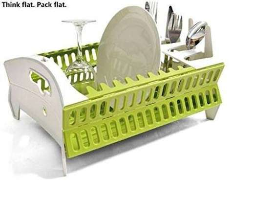 Collapsible dish rack image 2