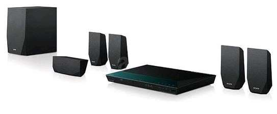Sony BDV-E2100 – 5.1 Channel Blu-ray Disc Home Theatre System – Black image 2