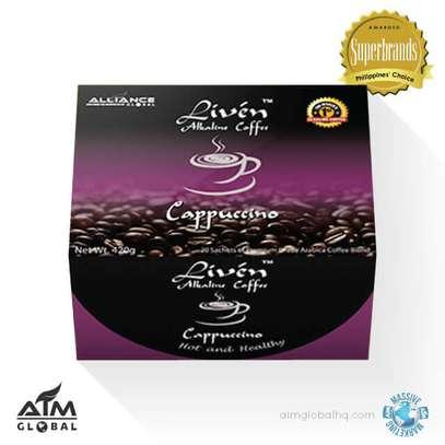 LIBIDO INCREASE Liven Coffee – Cappuccino image 1