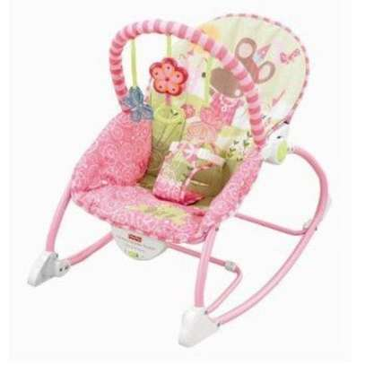 Ibaby Infant to Toddler Rocker/Bouncers ( 0+ months) - Pink image 1