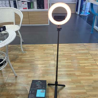 L07 Selfie Stick Ring Light Tripod image 1