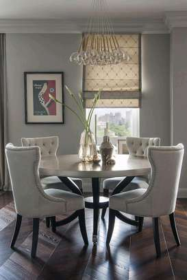 Four seater dining table for sale in Nairobi Kenya/Round tabled dining table for sale in Nairobi Kenya image 1