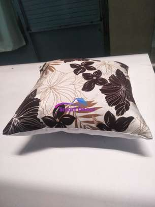 Cream Colored Pillow image 1