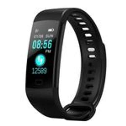 Wristband - Y5 Heart Rate Blood Pressure Monitor Smart Watch image 1