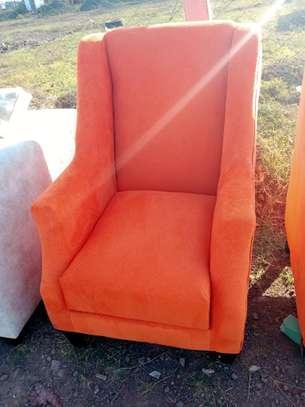 One seater sofas for sale in Nairobi Kenya/king size sofas/orange sofas image 1