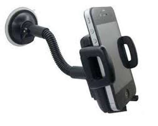 Foldable Mobile Phone Holder Stand,Retractable Adjustable Phone Holder image 1