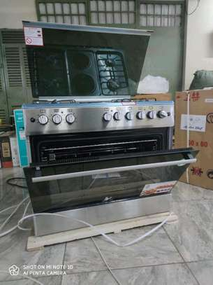 Master chef electric gas cooker and oven image 2