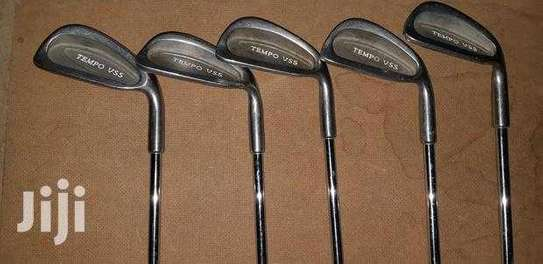 Assortment Of Golf Clubs. image 3