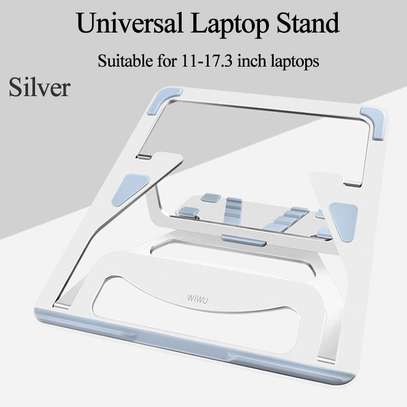 """Aluminum Lapdesks for MacBook Air Pro 11-15 Inch Adjustable Cooling Support Notebook PC Tablet Stand """" image 4"""