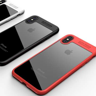 AUTO FOCUS Transparent Shockproof Silicone Phone Case For iphone x xs max xr Coque Cover For iphone 6 7 8 6splus 7plus image 6