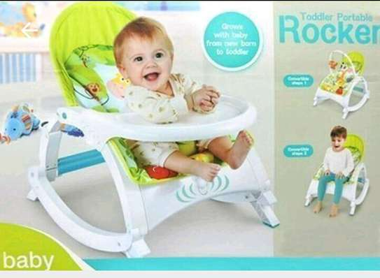 baby rocker with dinning table