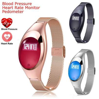 Z18 Smart Watch Bracelet With Blood Pressure Heart Rate Monitor image 1