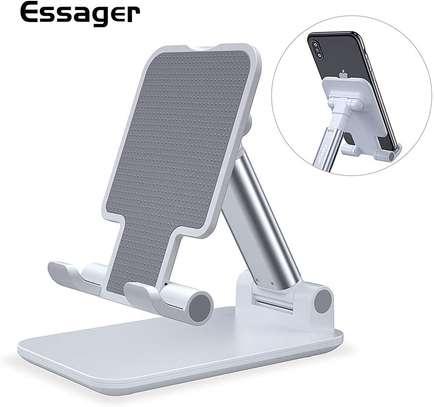 Metal Folding Adjustable Mobile Phone Holder image 1