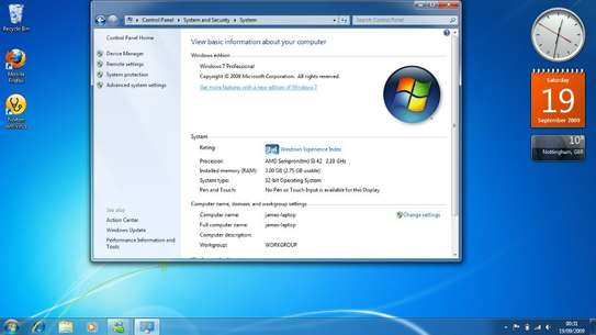 Windows Operating System installation image 2