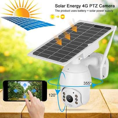 HD Solar PTZ Camera image 1