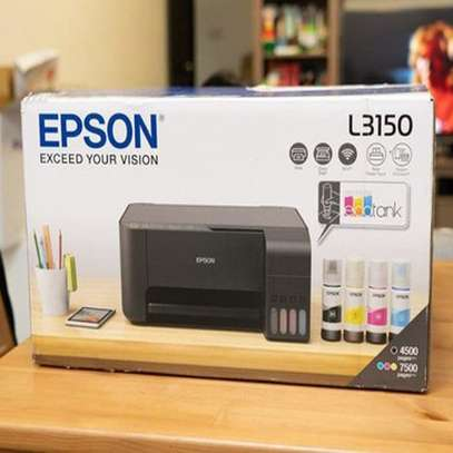 Epson L3150 All-in One Color Wireless Printer, Supported Paper Size: A4 image 1