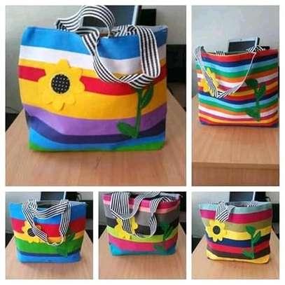 Ladies single multicolor bag image 1