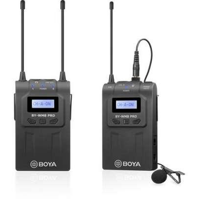 BOYA by-WM8 Pro-K1 UHF Wireless Microphone System image 1