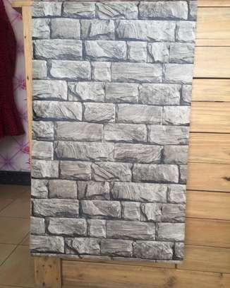 Home decor plain wall paper image 9