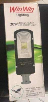 SOLAR LED FLOOD LIGHTS + 2yrs warranty image 1