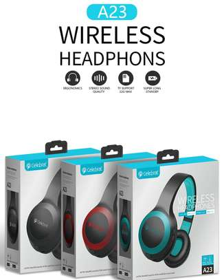 Celebrat A23 wireless Bluetooth Heaphones Headsets image 1